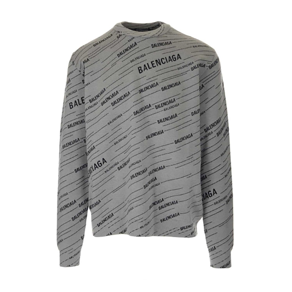 Balenciaga - Diagonal Logo Sweater