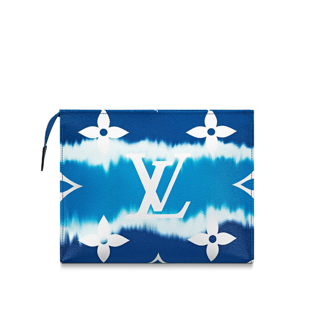 Louis Vuitton Escale Poche Toilette 26 - Blue