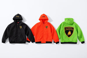 Supreme X Lamborghini Hooded Work Jacket