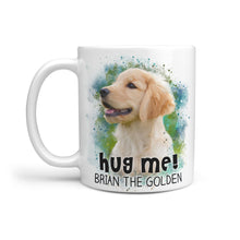 Load image into Gallery viewer, Hug Me! - Personalized 11 oz. Mug - Snoop Gold