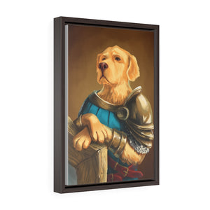 Golden Defender Framed - Snoop Gold