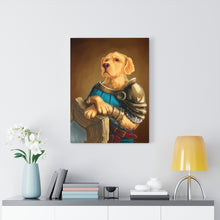 Load image into Gallery viewer, Golden Guardian - Your Noble Golden Retriever Portrait Canvas - Snoop Gold