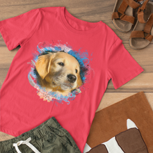 Load image into Gallery viewer, Breezy - Floral Personalized Tee Shirt - Snoop Gold