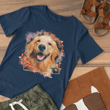 Load image into Gallery viewer, Shady - Floral Personalized Tee Shirt - Snoop Gold