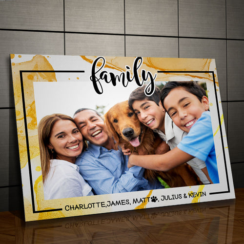 Family - Personalized Portrait - Snoop Gold