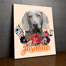 Load image into Gallery viewer, Charmy - Personalized Portrait - Snoop Gold
