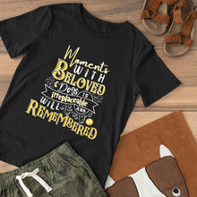 Load image into Gallery viewer, Moments with Beloved Dogs Tee Shirt - Snoop Gold
