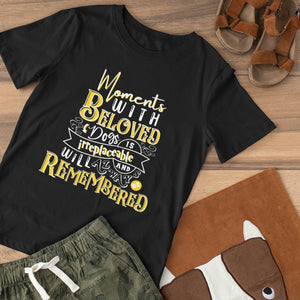 Moments with Beloved Dogs Tee Shirt - Snoop Gold