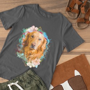 Springtime - Floral Personalized Tee Shirt - Snoop Gold