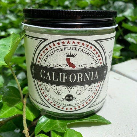 California State Soy Candle