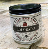 Colorado State Soy Candle