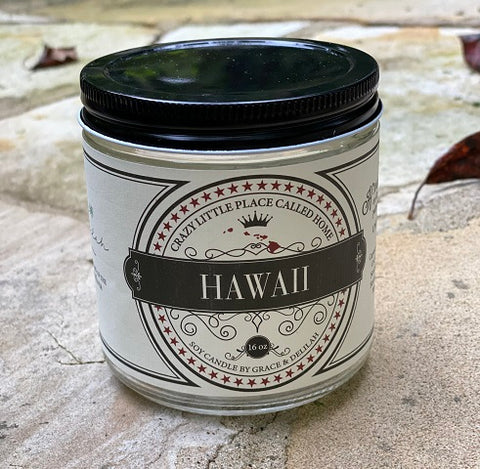 Hawaii State Soy Candle