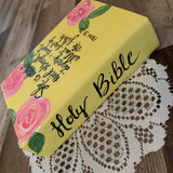 Painted Bible Yellow