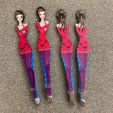 Girly tweezers (girl in purple)