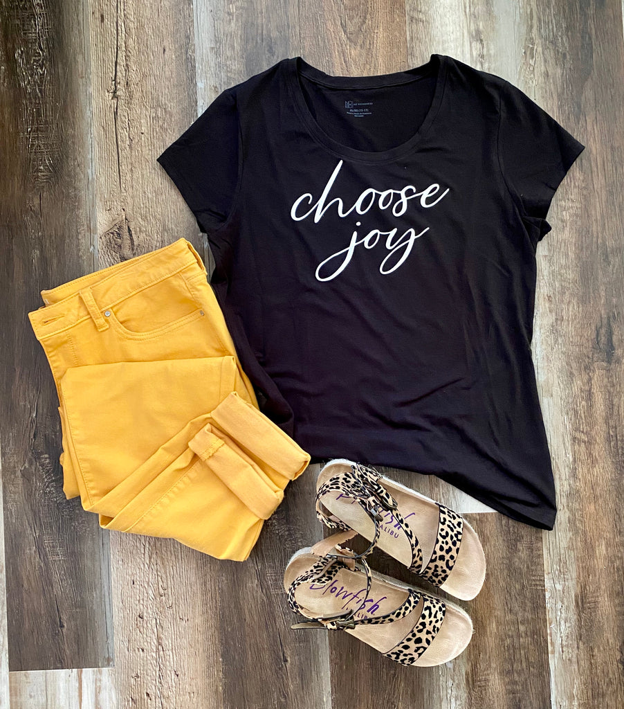 Short Sleeve T-Shirt ~ Choose Joy