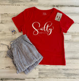 Short Sleeve T-Shirt  Salty