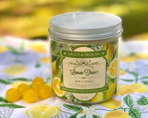 Lemon Tree Soy Candle