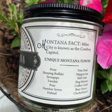 Montana State Soy Candle