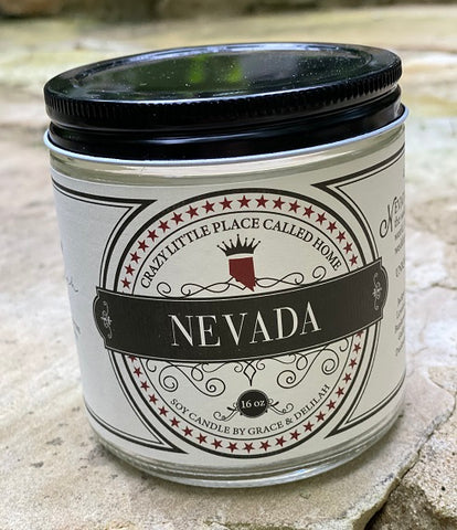 Nevada State Soy Candle