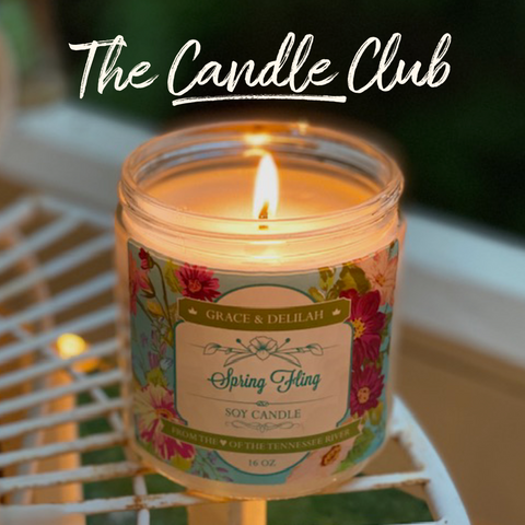 The Candle Club (Monthly Subscription)