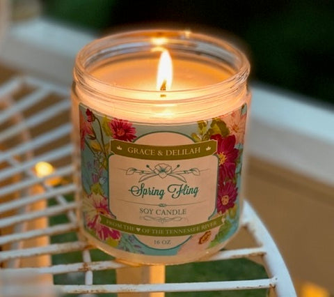 Spring Fling Soy Candle