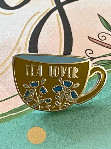 Tea Lover Enamel Pin