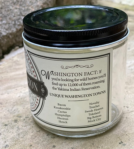 Washington State Soy Candle
