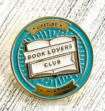 Book Club Lifetime Member Enamel Pin
