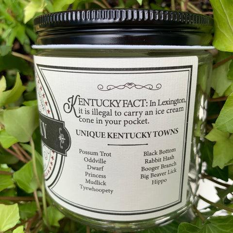 Kentucky State Soy Candle
