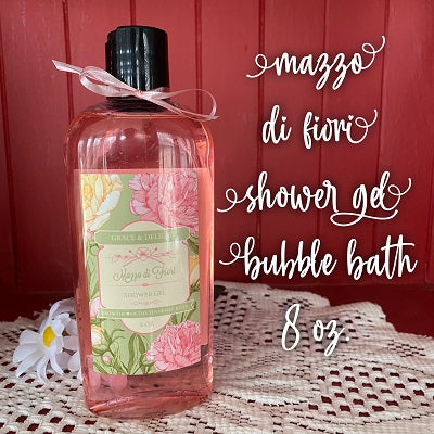 Mazzo di Fiori  Shower & Bubble Bath (8 oz)