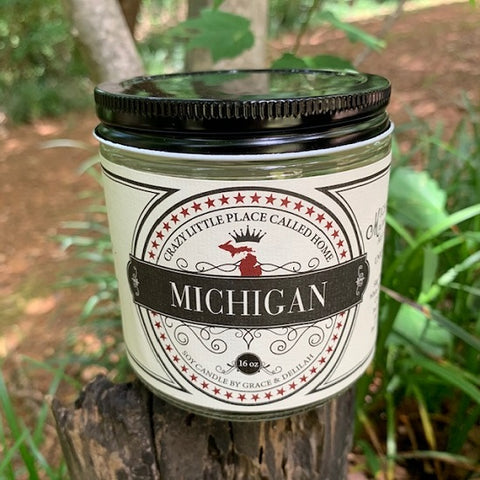 Michigan State Soy Candle