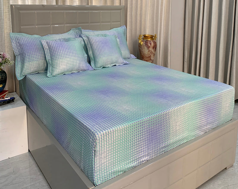 Techno Geo 300 Thread Count Bed Set by Limone Fresco