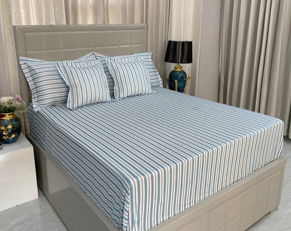 Anton Stripes 300 Thread Count Bed Set by Limone Fresco.