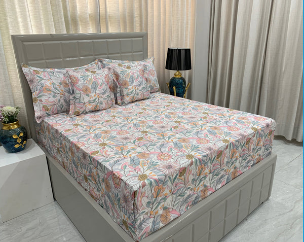 Florea 300 Thread Count Bed Set by Limone Fresco