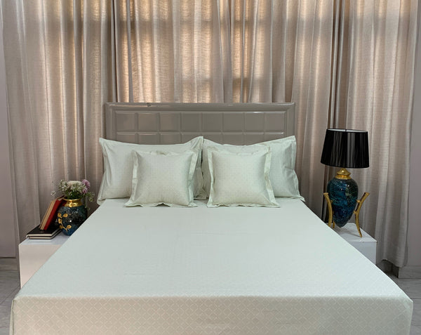 Simple Geo 400 Thread Count Bed Set by Limone Fresco