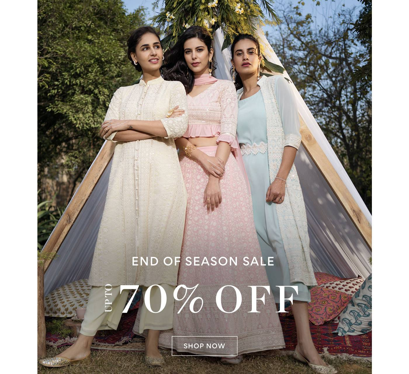 End Of Season Sale - UPTO 70% Off