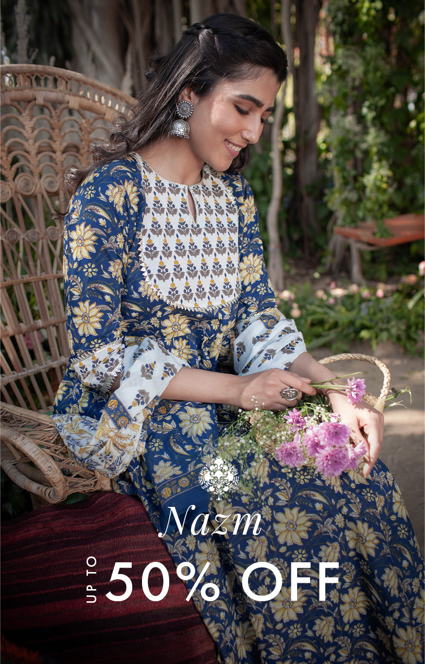 Nazm up to 50% Off