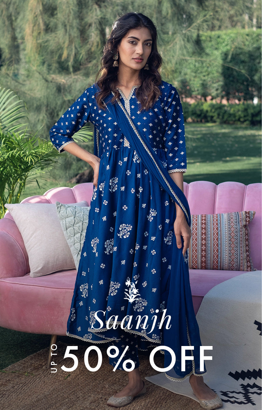 Saanjh up to 50% Off