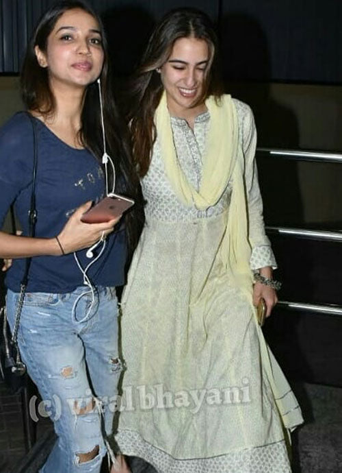 Sara Ali Khan in a stylish ethnic look from Libas