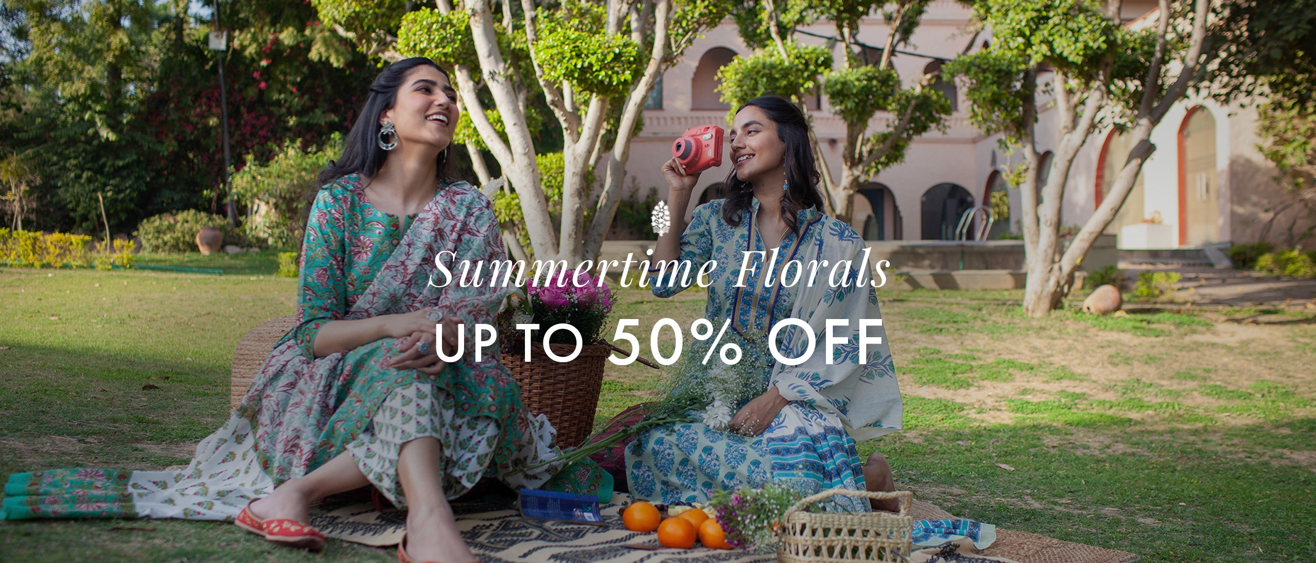 Summertime Florals up to 50% Off