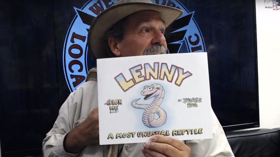Jungle Bob with Lenny - A Most Unusual Reptile book