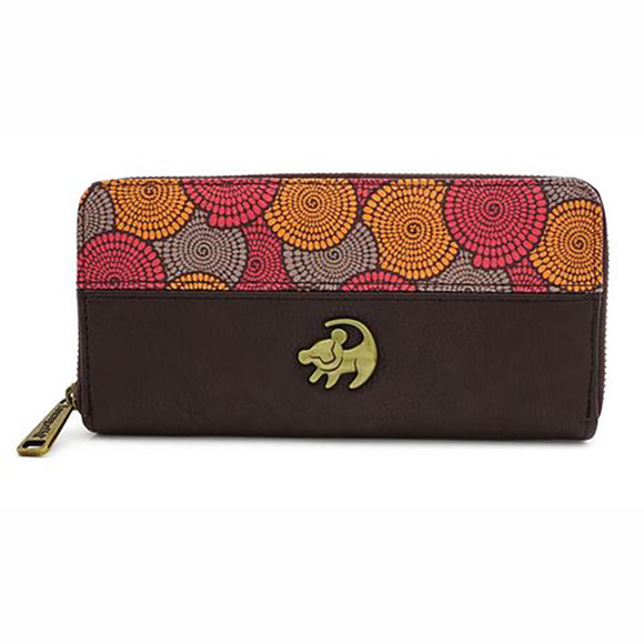 Loungefly Lion King Simba African Floral Wallet