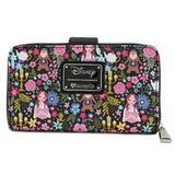 Loungefly Beauty and Beast Belle Floral Wallet