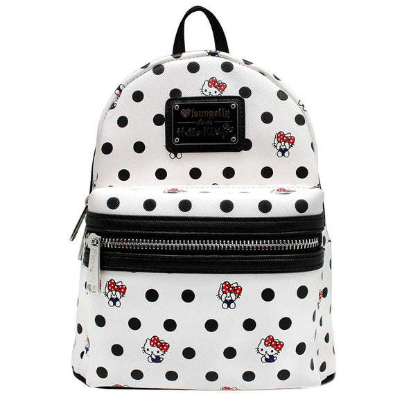 Loungefly Hello Kitty Polka Dot PU Mini Backpack