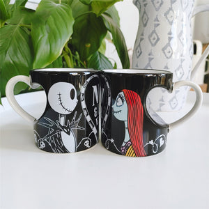 Nightmare Before Christmas Jack And Sally Now Forever Mug