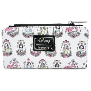 Loungefly Disney Princess Portraits Wallet