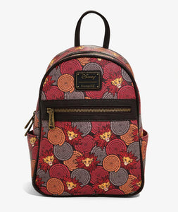 Loungefly Lion King Simba African Floral Backpack
