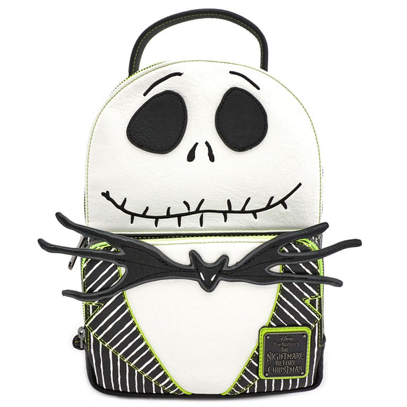 Loungefly Nightmare Before Christmas Green Line Jack Backpack