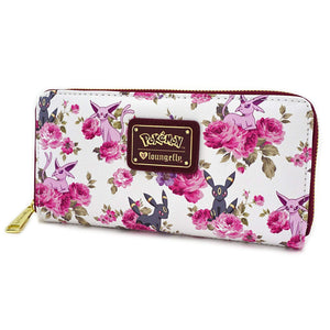 Loungefly Pokemon Espeon Umbreon Floral Wallet