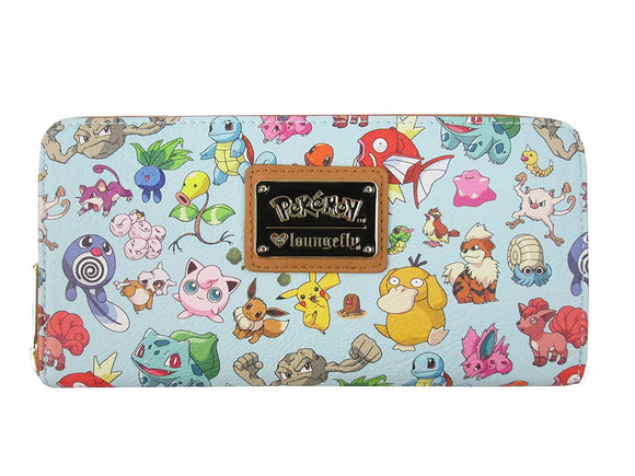 Loungefly Pokemon Mint Wallet